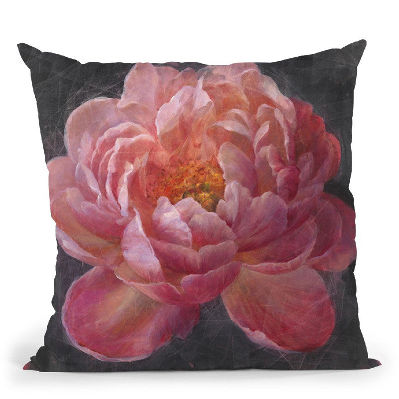 Vivid Floral I Throw Pillow By Danhui