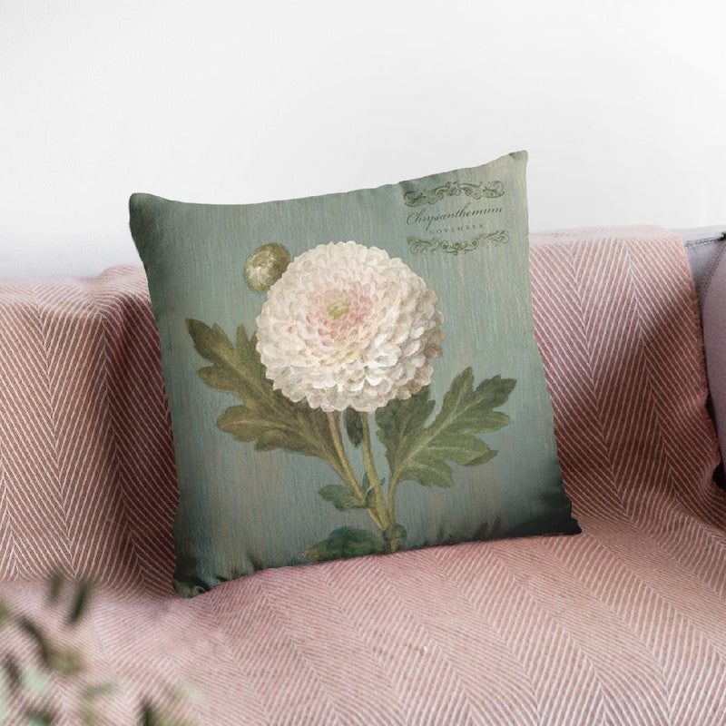 November Chrys Throw Pillow By Danhui