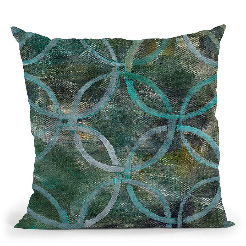 Tile Element Iii Throw Pillow By Danhui