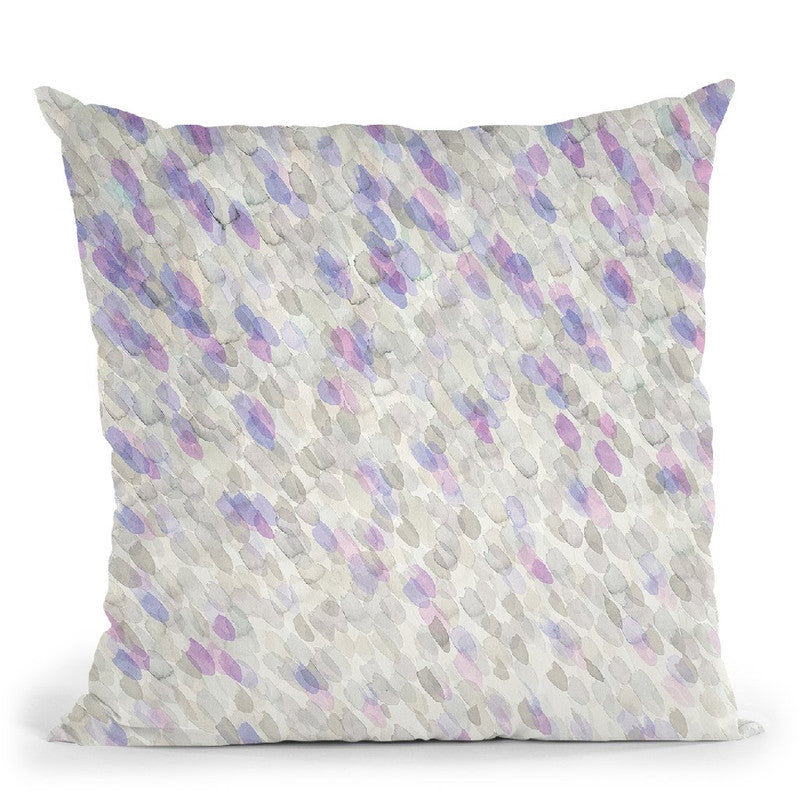 Shimmer Throw Pillow By Danhui