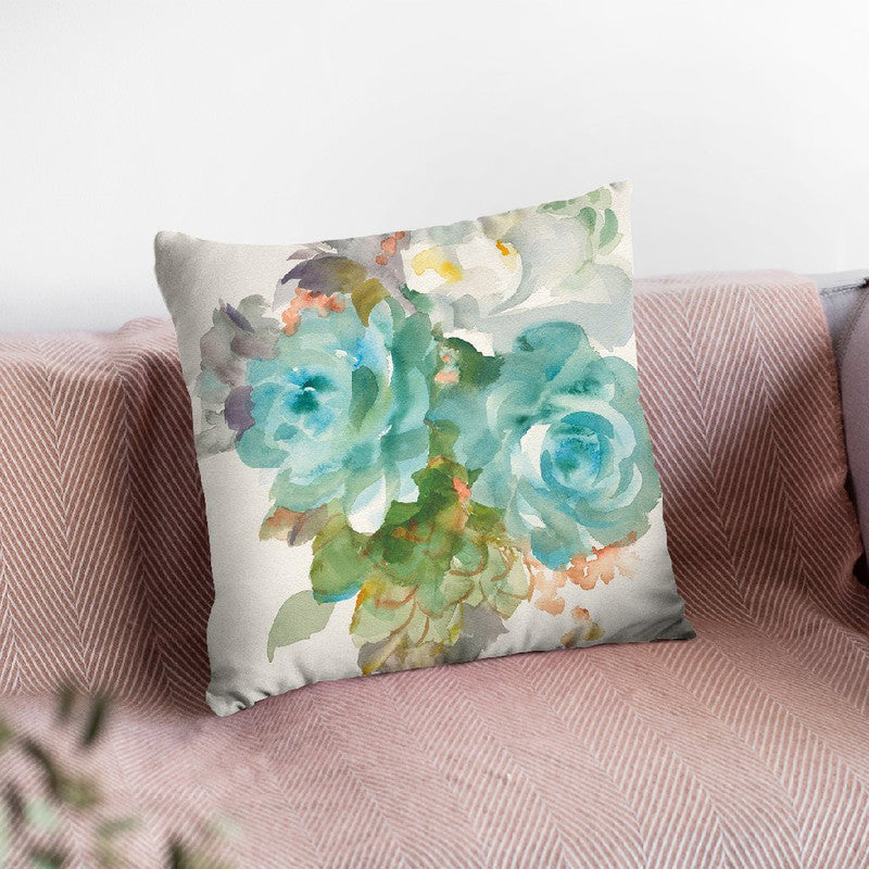 Garden Bouquet Iii Throw Pillow By Danhui