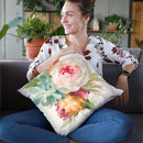 Garden Bouquet I Throw Pillow By Danhui