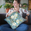 Graceful Magnolia Ii Throw Pillow By Danhui
