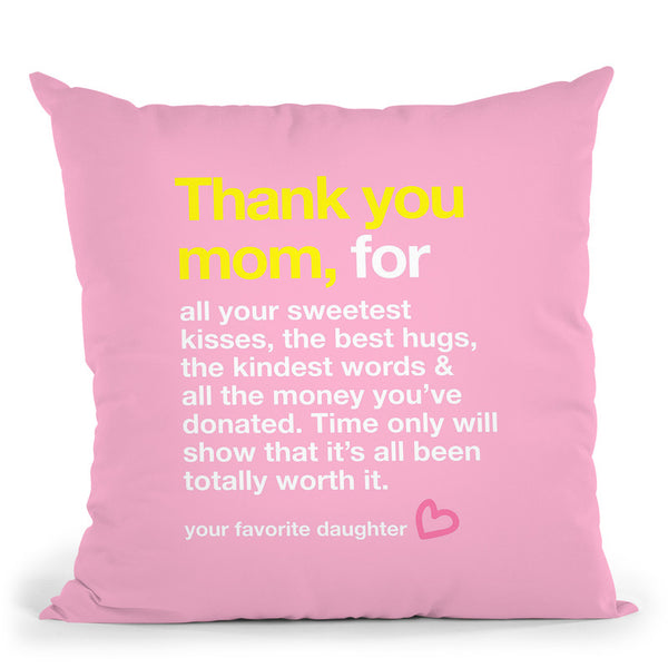 Mothers Day I Throw Pillow By Dom Vari