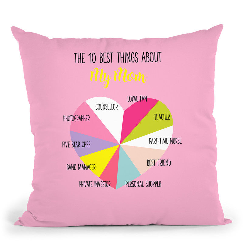 Mothers Day Ii Throw Pillow By Dom Vari