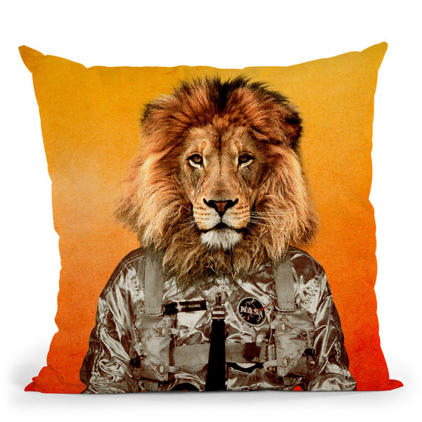 Go Flight Throw Pillow By Duro Print