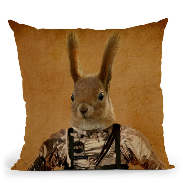 Hazel Throw Pillow By Duro Print