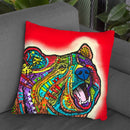 Roaring Bear Throw Pillow By Dean Russo