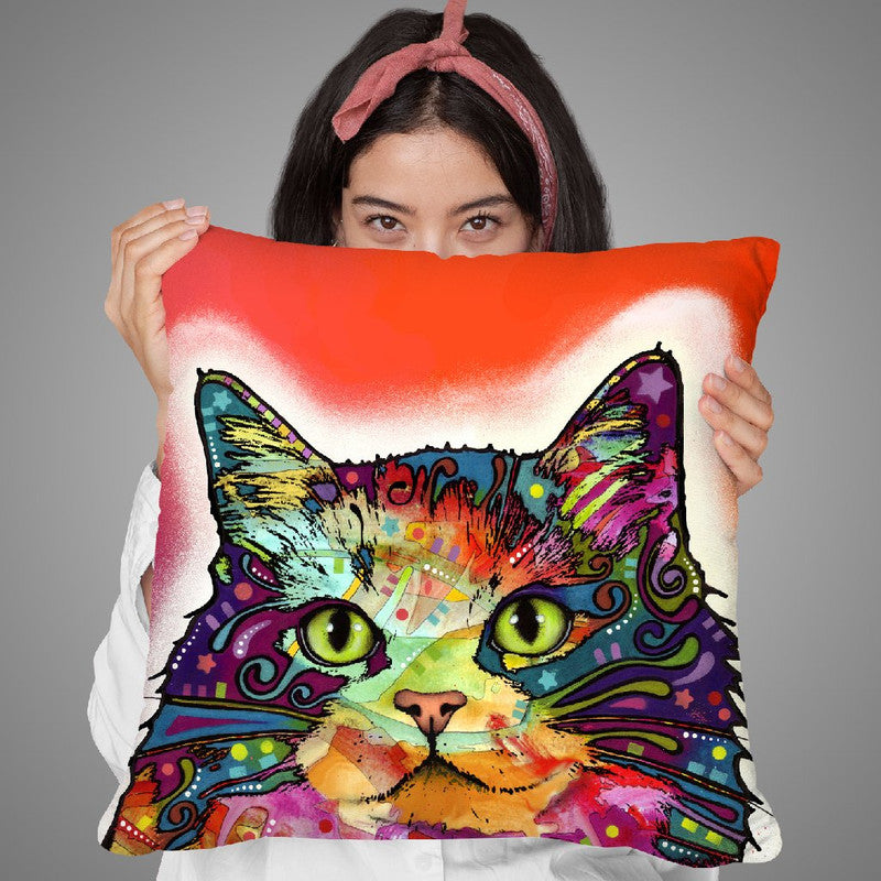Ragamuffin Throw Pillow By Dean Russo