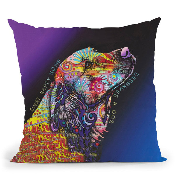 Every Happy Home Throw Pillow By Dean Russo