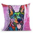 Shepherd Love Throw Pillow By Dean Russo