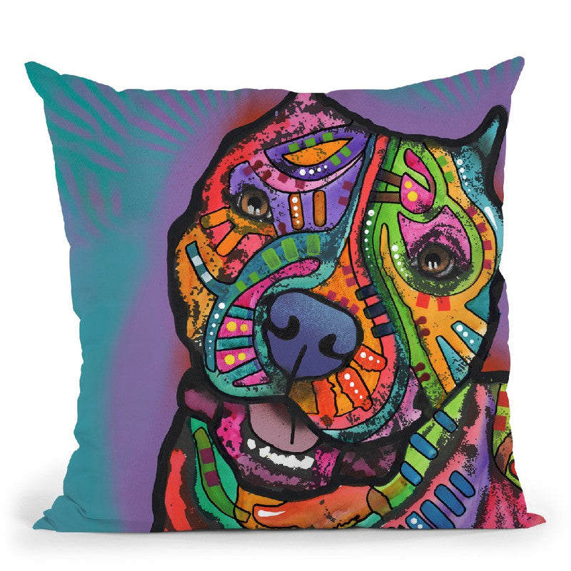 Noel Throw Pillow By Dean Russo
