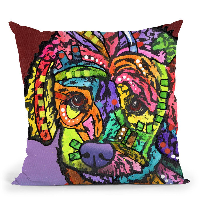 Riley Ii Throw Pillow By Dean Russo