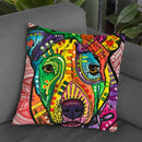 Eyes Are The Window To The Soul Throw Pillow By Dean Russo