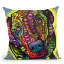 Marley Throw Pillow By Dean Russo