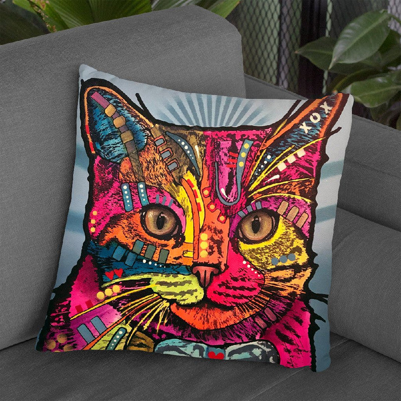 Max Throw Pillow By Dean Russo