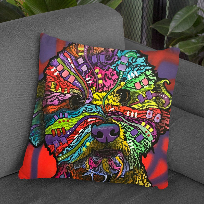 Wrigley Throw Pillow By Dean Russo