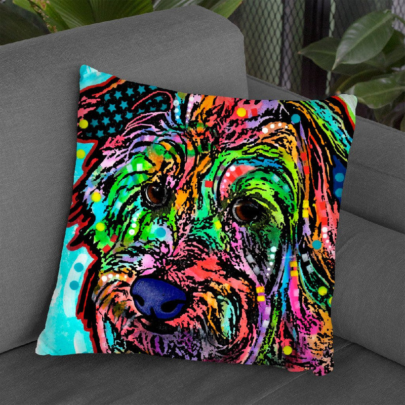 Amelia Throw Pillow By Dean Russo