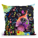 King Charles 2 Throw Pillow By Dean Russo