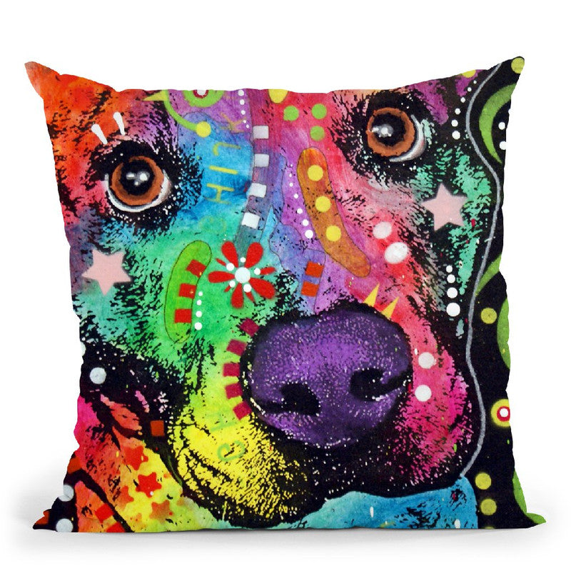 Passion Pit Throw Pillow By Dean Russo