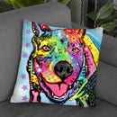 Smokey 2 Throw Pillow By Dean Russo