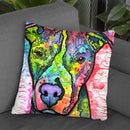 Snoopy Throw Pillow By Dean Russo