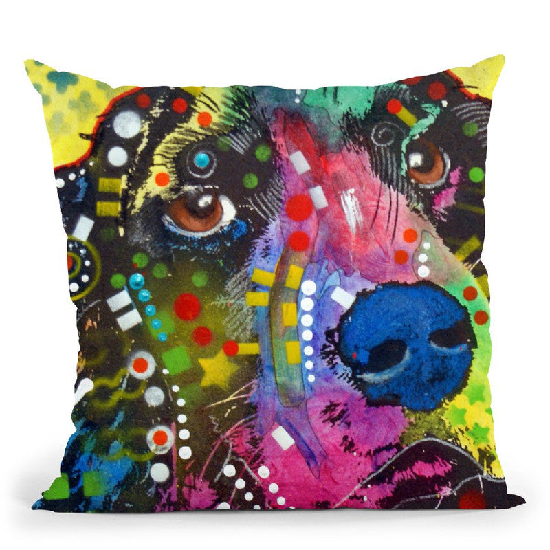 Springer Throw Pillow By Dean Russo