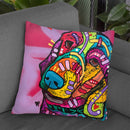 Charlotte Throw Pillow By Dean Russo