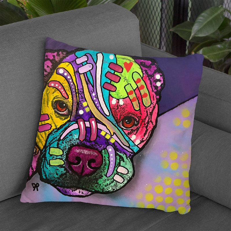 Rex Throw Pillow By Dean Russo