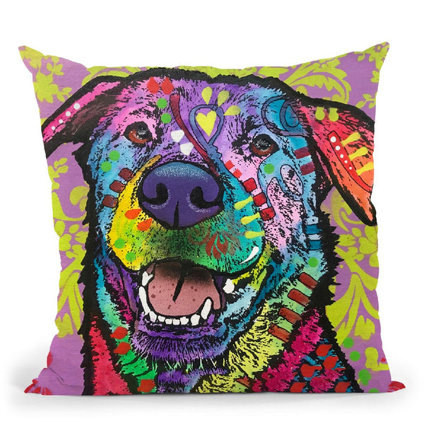 Dan Throw Pillow By Dean Russo