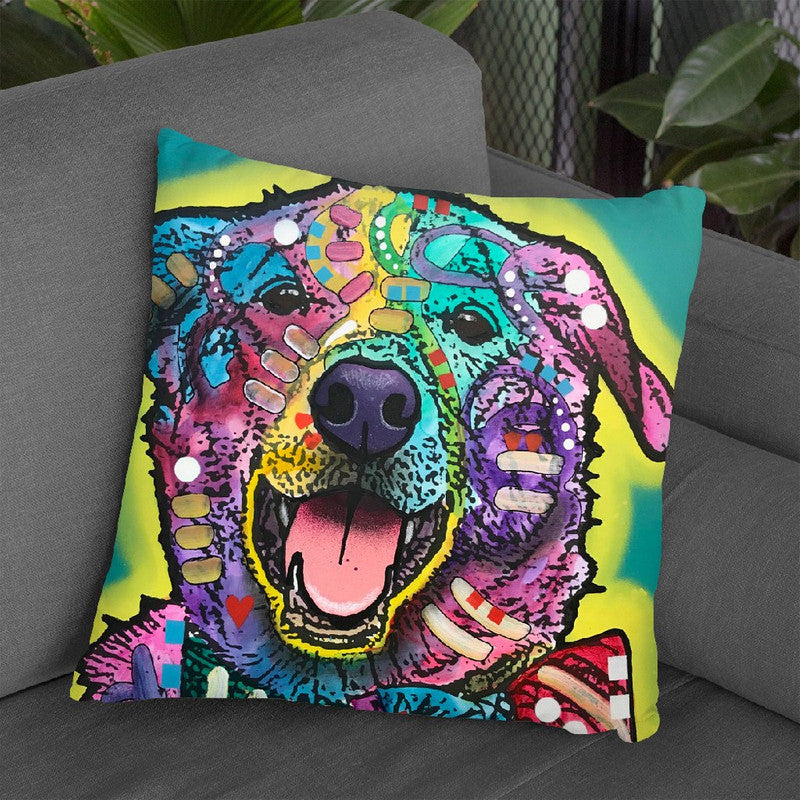 Joker Throw Pillow By Dean Russo