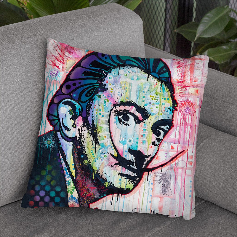 Dali Throw Pillow By Dean Russo