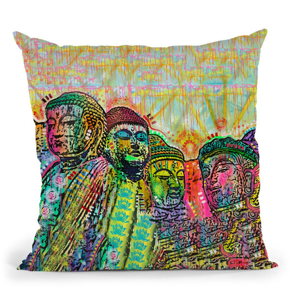 Mt Peacemore Throw Pillow By Dean Russo