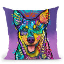 Rocky Throw Pillow By Dean Russo
