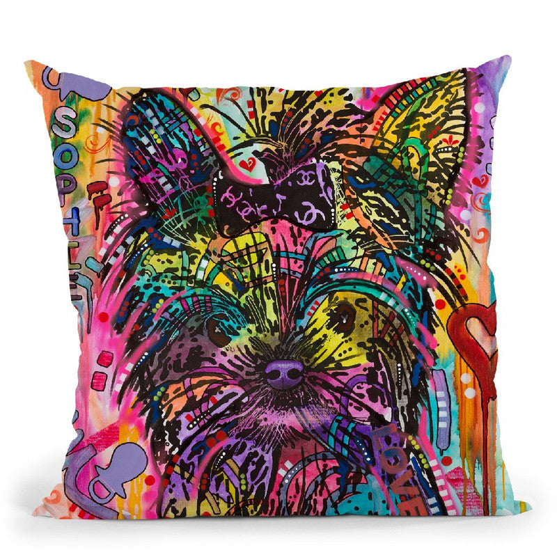 Sophie Throw Pillow By Dean Russo