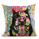 Blossom(Ed) Throw Pillow By Dean Russo