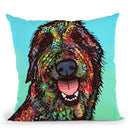 Funny Feeling Throw Pillow By Dean Russo