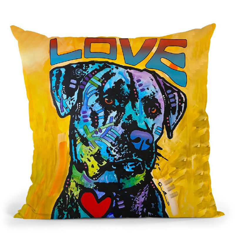 Gentle Giant Throw Pillow By Dean Russo
