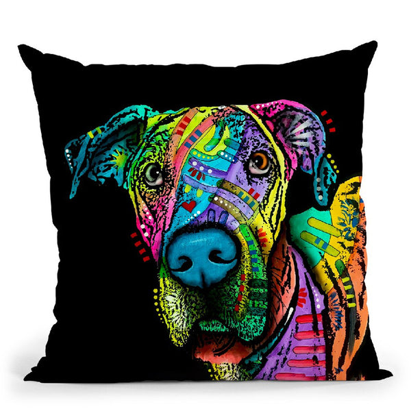 Indelible Dane Throw Pillow By Dean Russo
