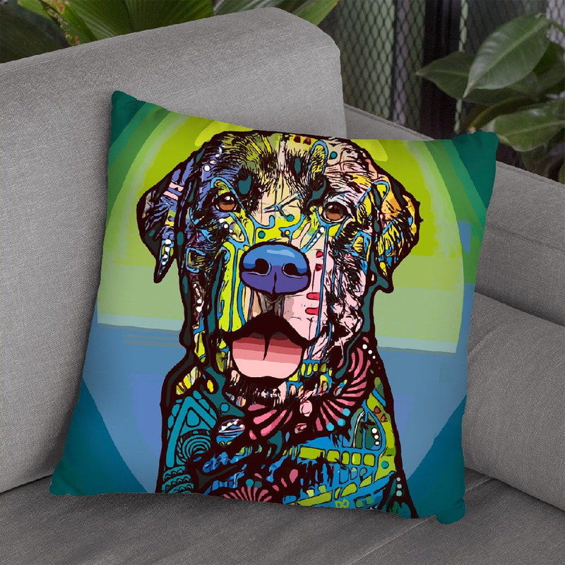Indelible Lab Throw Pillow By Dean Russo