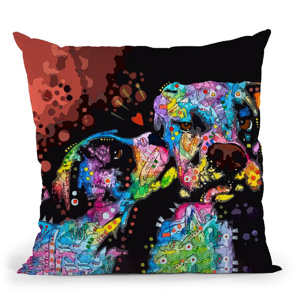 It'S Just Puppy Love Throw Pillow By Dean Russo