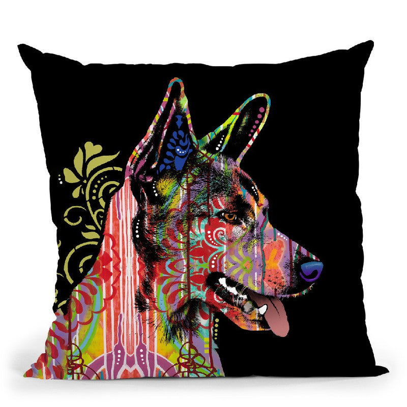 Love Is Here Throw Pillow By Dean Russo