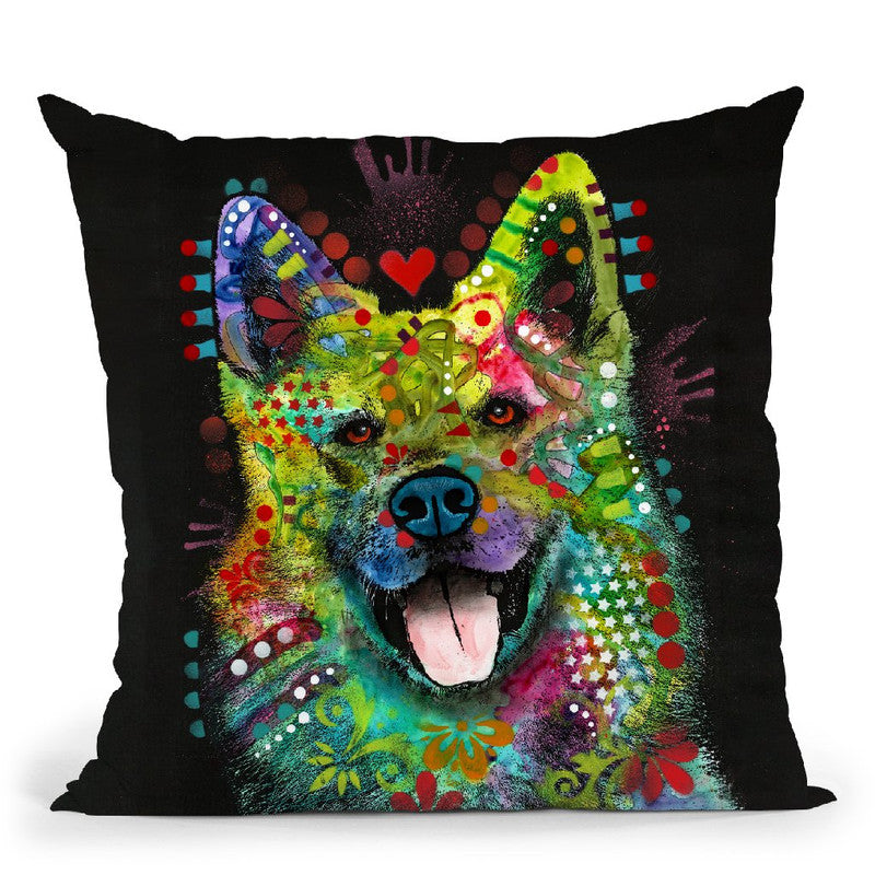 Love Light Throw Pillow By Dean Russo
