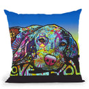 Love You Hound Throw Pillow By Dean Russo