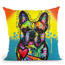 My Best Conversations Throw Pillow By Dean Russo