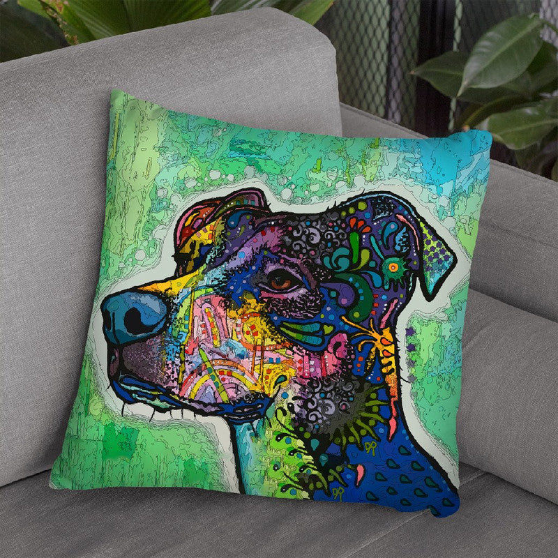 Poise Throw Pillow By Dean Russo