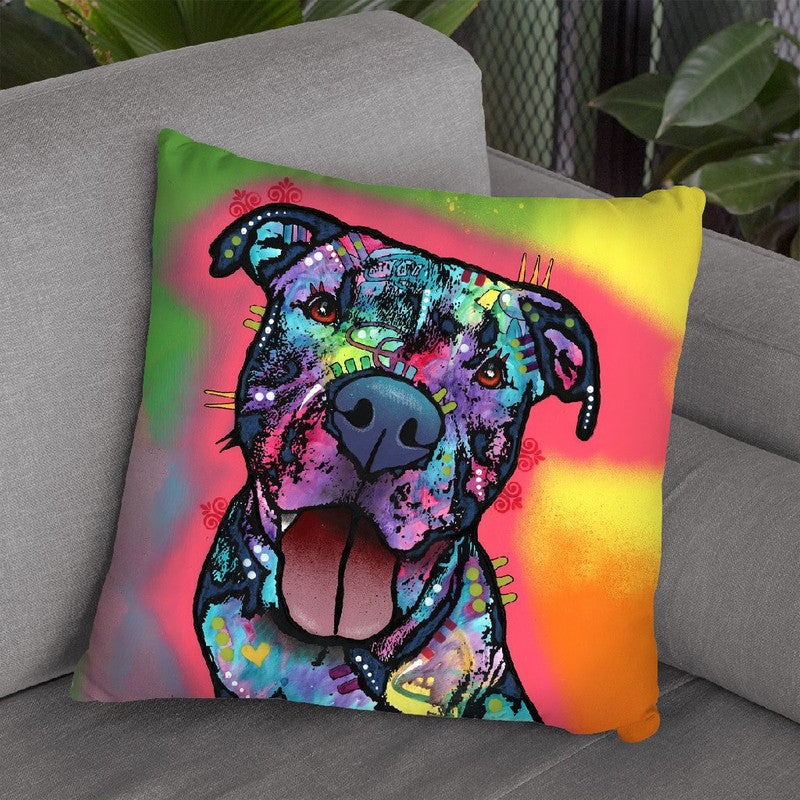 Straight To The Heart Throw Pillow By Dean Russo