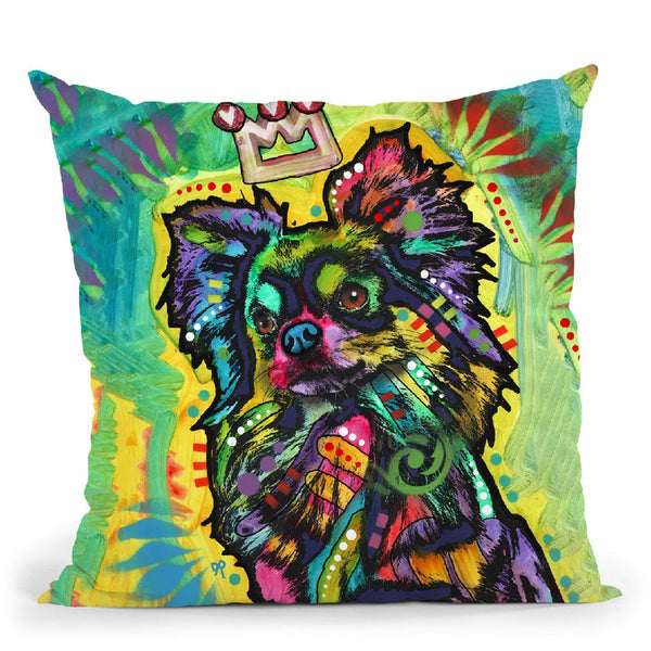 The Star Throw Pillow By Dean Russo