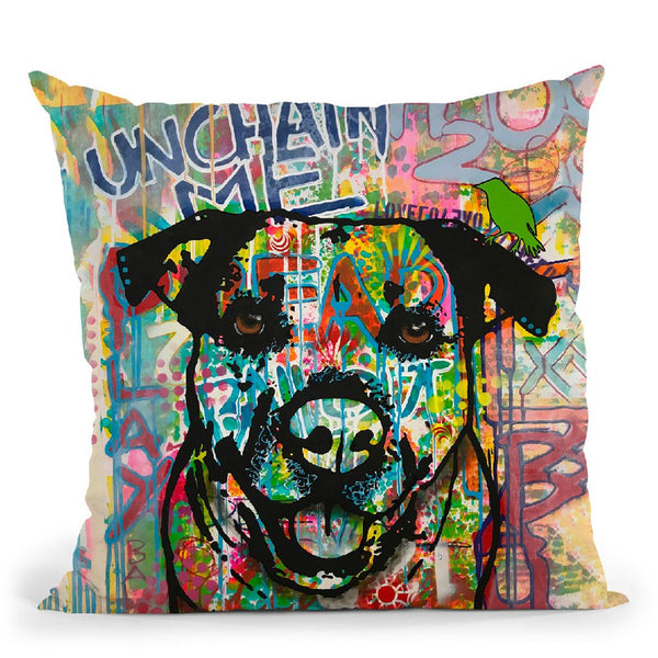 Unchained Throw Pillow By Dean Russo
