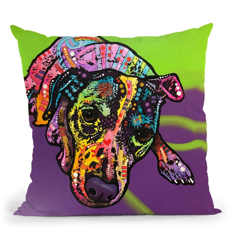 Indelible Jack Throw Pillow By Dean Russo